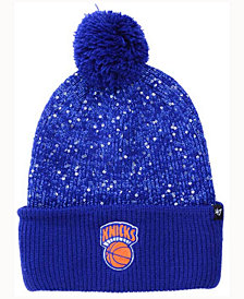 '47 Brand Women's New York Knicks Hardwood Classics Glint Knit Hat