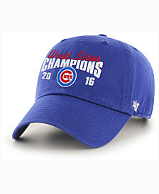 '47 Brand Chicago Cubs World Series Champ CLEAN UP Cap