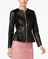 c261da99a7 Faux Leather Jackets For Women  Shop Faux Leather Jackets For Women ...