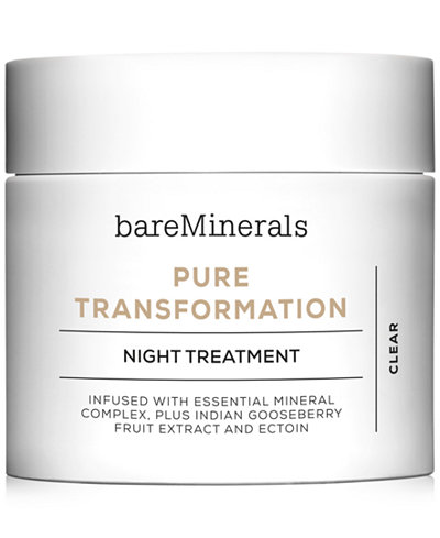 bareMinerals SKINSORIALS™ PURE TRANSFORMATION™ Night Treatment, 0.15 oz