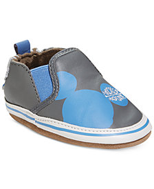 Robeez Hey Mickey Layette Shoes, Baby Boys & Toddler Boys