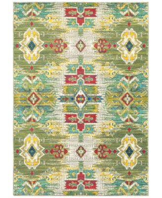 """CLOSEOUT! Vibe Sierra Green 9'10"""" x 12'10"""" Area Rug"""