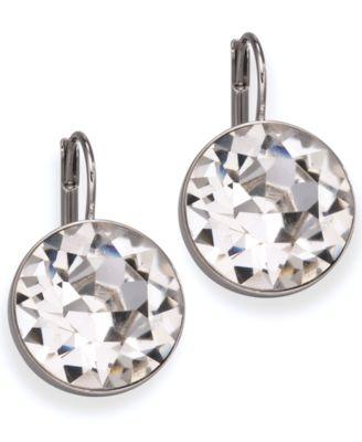 Swarovski Earrings Bella Crystal Drops Fashion Jewelry Watches Macy S