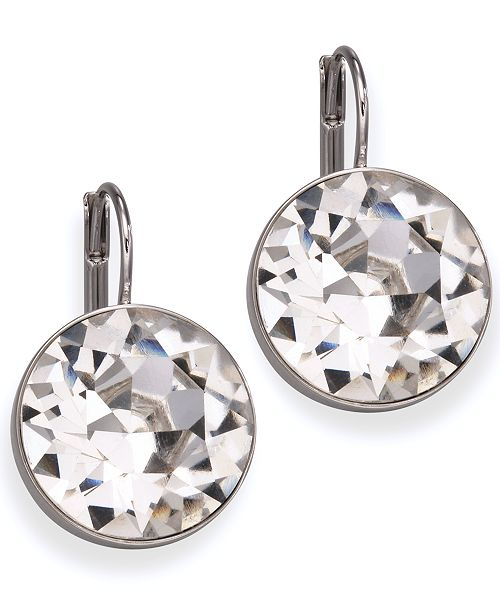 7560c9d01ddd8f Swarovski Bella Crystal Drop Earrings; Swarovski Bella Crystal Drop Earrings  ...