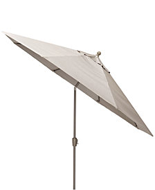 Wayland Outdoor 11' Umbrella, with Sunbrella® Fabric, Created for Macy's