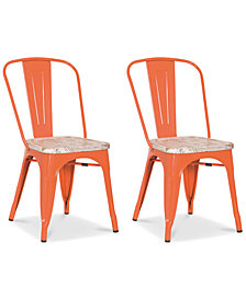 Galan Set of 2 Chairs, Quick Ship