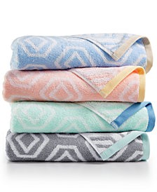Martha Stewart Collection Gemstone Bath Towel Collection, Created for Macy's