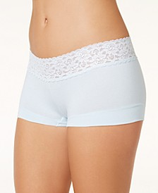 Cotton Dream Lace Boyshort Underwear 40859