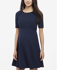 Motherhood Maternity Fit & Flare Dress