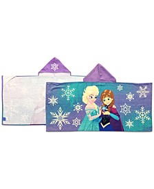 Jay Franco Frozen Snowflake Hooded Towel