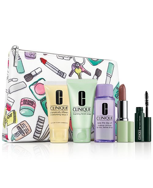 Receive a FREE 6 pc. Gift with $40 Clinique Purchase!