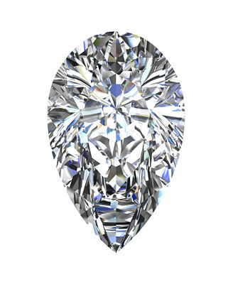 GIA Certified Diamond Pear (1 ct. t.w.)