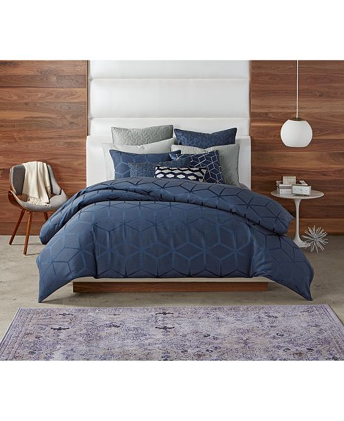 Hotel Collection Cubist Bedding Collection, Created For