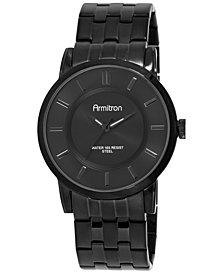 Armitron Men's Black Stainless Steel Bracelet Watch 42mm 20-4962BKTI