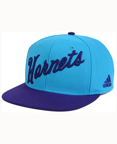 adidas Charlotte Hornets Seasons Greeting Snapback Cap