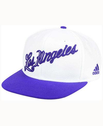 adidas Los Angeles Lakers Seasons Greeting Snapback Cap