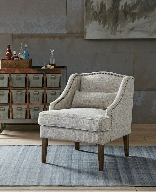 Jla Home Baylor Swoop Arm Accent Chair Quick Ship