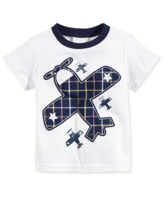 Image of First Impressions Cotton Graphic-Print T-Shirt, Baby Boys (0-24 months), Only at Macy's