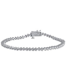 Diamond Tennis Bracelet (1/2 ct. t.w.) in Sterling Silver