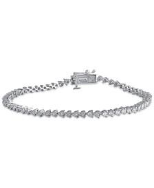 Diamond Tennis Bracelet (1/2 ct. t.w.) in Sterling Silver