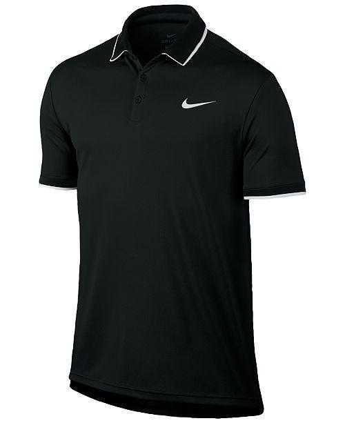 406885c1 Nike Men's Court Dry Tennis Polo; Nike Men's Court Dry Tennis ...