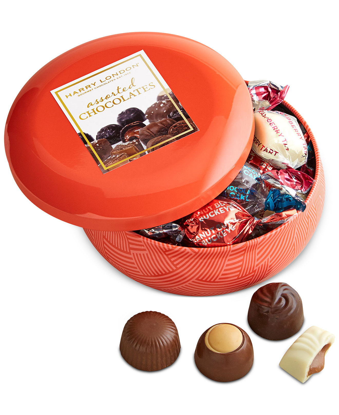 Harry London Candies Chocolate Hostess Tin - Gourmet Food & Gifts ...