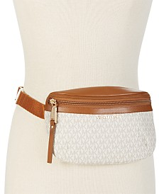 MICHAEL Michael Kors Signature Plus-Size Fanny Pack, Created for Macy's