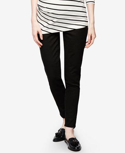 DL1961 Maternity Black Wash Skinny Jeans