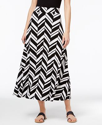 inc international concepts printed maxi skirt only at
