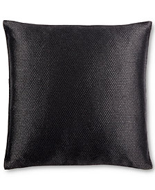 "Calvin Klein Broken Lines 18"" Square Decorative Pillow"