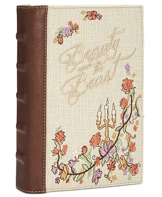 Disney By Danielle Nicole Beauty And The Beast Book Clutch