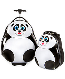 Heys travel Tots Panda 2PC Luggage & Backpack Set