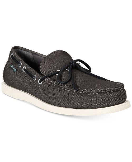 Eastland Shoe Eastland Men's Yarmouth 1-Eye Canvas Boat Shoes