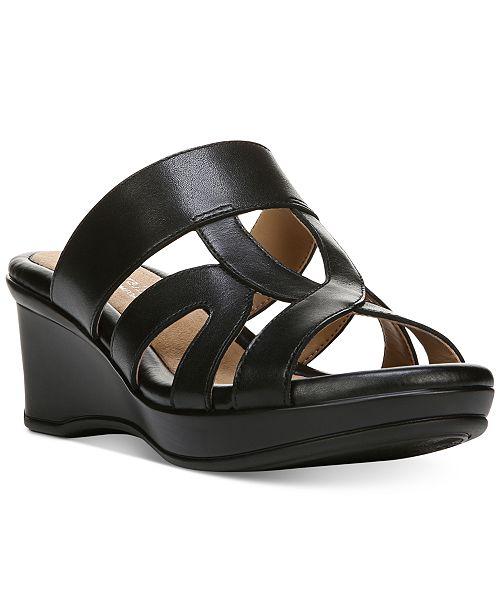 3ae0681cd9 Naturalizer Vanity Sandals & Reviews - Sandals & Flip Flops - Shoes ...