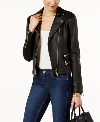 Shop Michael Kors Leather Moto Jacket online at bestffileoe.cf A fresh take on the moto jacket for the modern fashionista, this lush leather look from MICHAEL Michael Kors will top any ensemble.