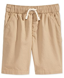 Epic Threads Pull-on Shorts with functional drawstring, Toddler Boys, Created for Macy's
