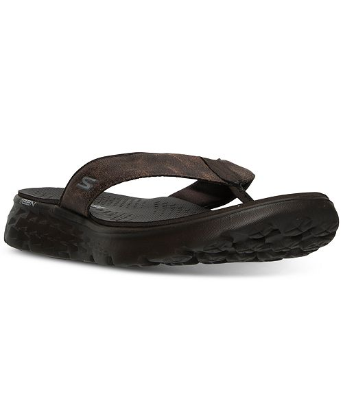 079009854f1d Skechers Men s On The Go 400 - Vista Comfort Thong Sandals from Finish ...