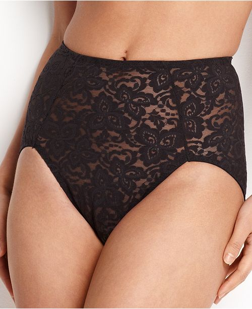 Bali Firm Tummy-Control Lace N Smooth Brief 8L14
