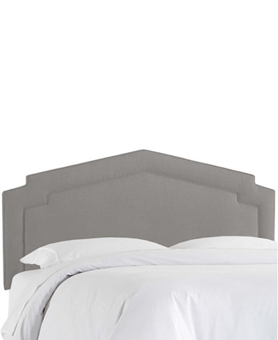 Chatman King Notched Headboard, Quick Ship