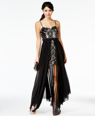 Partica Leopard Print Prom Dresses