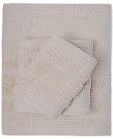 Caro Home Waffle Bath Towel Collection