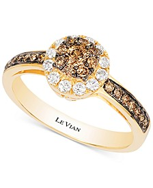 Chocolatier® Diamond Ring (1/2 ct. t.w.) in 14k Gold
