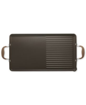 Anolon Advanced Bronze 10 x 18 Double Burner Griddle and Grill Pan