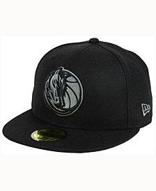 New Era Dallas Mavericks Black Graph 59FIFTY Cap