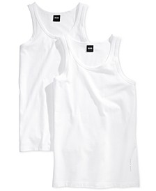 Men's 2 Pack Tank Top Undershirts
