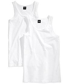 BOSS Men's 2 Pack Tank Top Undershirts