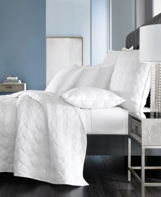 Basic Cane Quilted Twin Coverlet, Created for Macy's