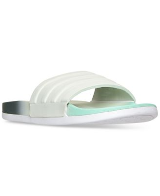 adidas Women's adilette Cloudfoam Armad Slide Sandals from Finish Line
