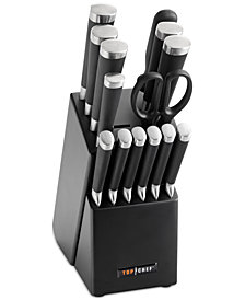 Top Chef 15-Pc. Samurai Cutlery Set