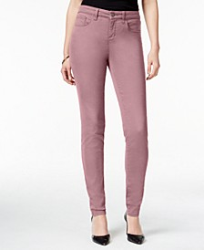 Petite Curvy-Fit Skinny Jeans, Created for Macy's